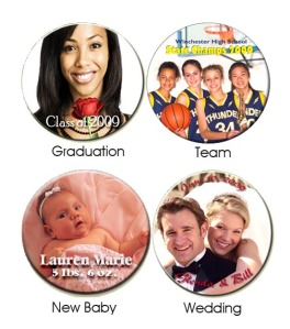 Special Occasion Photo Buttons