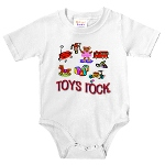 """Toys Rock"" Infant Body Suit"
