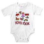 """""""Toys Rock"""" Infant Body Suit"""